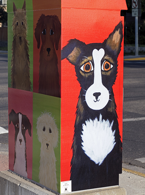 Folk Dog Art (Photo by Depictive Photography)